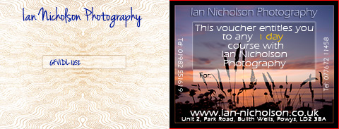 Landscape Photography Course Vouchers